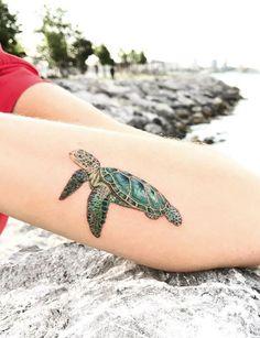 Caretta Caretta Tattoo