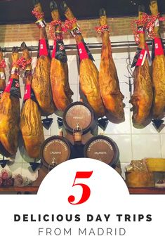 Explore The Area Around Madrid Through Food With One Of These Delicious Day Trips From Madrid Weekend Trips, Day Trips, Madrid Travel, Spain And Portugal, Spain Travel, Foodie Travel, Have Time, Street Food, Trip Planning