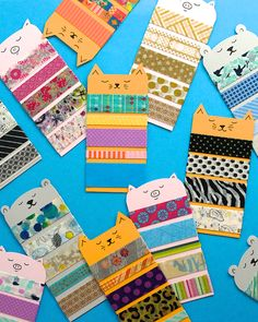 Omiyage Blogs: Washi Tape Animal Samplers