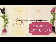 Como Fazer Convite de Casamento com Doilie --- Papel Rendado --- DIY --- Faça Você Mesmo - YouTube