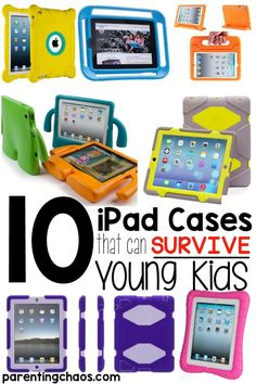 iPad Cases than Can Survive Young Kids