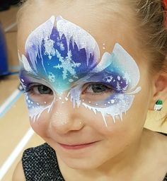 The Ultimate Frozen Face Painting Guide — Jest Paint Store painting tutorials The Ultimate Frozen Face Painting Guide Elsa Face Painting, Face Painting Tips, Face Painting Tutorials, Belly Painting, Face Painting Designs, Painting For Kids, Paint Designs, Face Paintings, Simple Face Painting