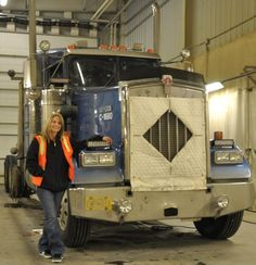 Lisa Ice Road Trucker Dies   From the VP of Sales for the lights I used about cold weather:
