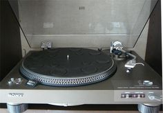 Vintage HiFi Sony Direct Drive PS4300 Turntable with Stanton 681 Phono Cartridge