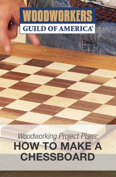 How to Make a Chessboard | DIY Chessboard Plans