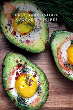 13 spectacular recipes that stuff avocado with other delicious things, from bacon and eggs to shrimp ceviche. @PureWow