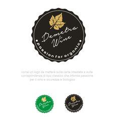 creare un logo che parli di biologico\natura e vigne da mettere sulla carta intestata by Wearfaust