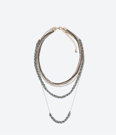 """""""UNTITLED JEWELS"""" COLLECTION CHAINS NECKLACE-Jewellery-Accessories-WOMAN 