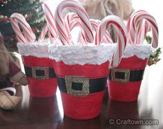 Santa's Belly Treat Cups