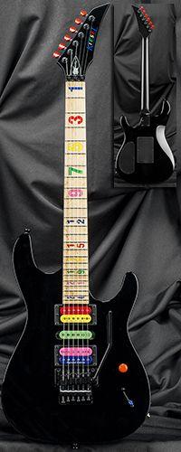 Kiesel Guitars JB24 Jason Becker Tribute Numbers Guitar with Floyd Rose Tremolo Serial Number 132713