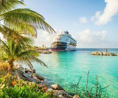Cruising the Caribbean.... http://beachblissliving.com/beach-cabana-castaway-cay/