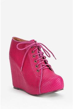 UrbanOutfitters.com > Jeffrey Campbell X UO Punched 99-Tie Wedge