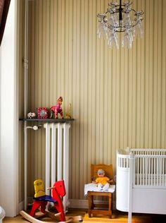to do: radiator shelf Radiator Shelf, Radiator Cover, Cast Iron Radiators, Having A Baby, Bedroom Inspiration, Girl Nursery, Kids Rooms, Cribs, Home Goods