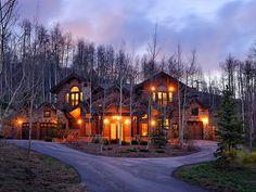 Aspen mountain home.