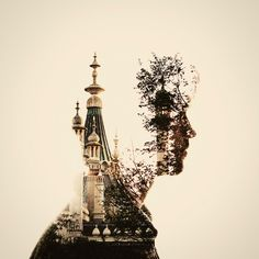 I really want to learn how to do Double Exposures :) This one is by Dan Mountford