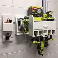 #DIY Tool Storage solution. Click thru for more on this RYOBI Nation project submission.
