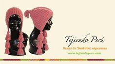 gorros peruanos con borlas - YouTube
