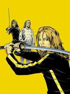 Kill Bill • Elle, Bill, and Beatrix