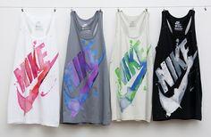 Nike workout tank tops