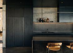 Plain English Kitchen, Sawn Timber, Magical Home, Minimalist Apartment, Shaker Kitchen, Concrete Wall, Open Plan Kitchen, Splashback, Outdoor Rooms