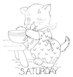 saturday Kitty - pic only