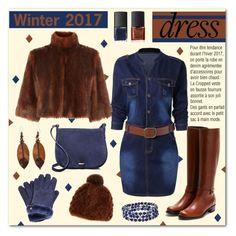 """Winter Dresses Under $100"" by drinouchou ❤ liked on Polyvore featuring Coast, Rupert Sanderson, Pologeorgis, UGG, Céline Lefébure, Chaps, NOVICA, NARS Cosmetics and under100"
