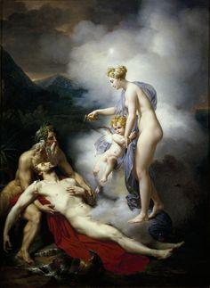 French School, Venus Healing Adonis, 18th century