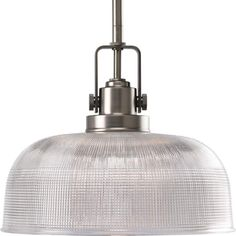 """View the Progress Lighting P5026 Archie 1 Light Dome Pendant with Prismatic Glass - 11"""" Wide at Build.com."""