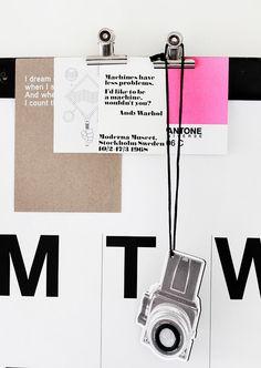 Via Elina Dahl | Stendig Calendar | Moderna Museet Warhol Card