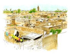 Image result for moroccan cityscape
