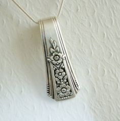 Vintage Spoon Necklace, Fortune 1939