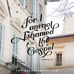 """Day 1 of """"Romans: The Essential Gospel""""; a Bible-reading plan from She Reads Truth."""