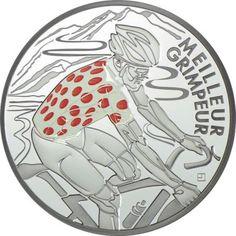 10 Euro Silber Tour de France: Bergtrikot PP