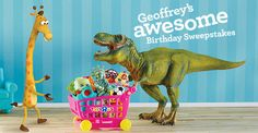 I entered @ToysRUs Geoffrey's Awesome Birthday Sweepstakes & you should, too!