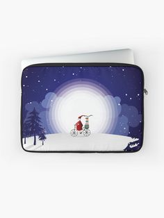 A durable zipped laptop sleeve protects from scratches and minor impacts. Keep your laptop safe! #laptopsleeve #laptopcase #laptopbag #computerbriefcase #laptoppouch #kidslaptopcase #christmasgift #christmas#christmaspresents