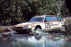 Citroen CX - 1981 Paris Dakar. Citroen was the first works team ever to enter, with four CXs in this event.