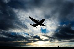 A C-130 Hercules takes off from Little Rock AFB, Arkansas.