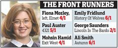 Fiona Mozley shortlisted for Man Booker Prize | Daily Mail Online