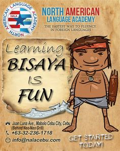 It's fun to be with cebuano's Come and learn Cebuano or Bisaya and become a part of the people! even the owner and founder a pure american, has been fluent in the language. Cebu City, Tagalog, My Passion, Filipino, Languages, Get Started, Philippines, How To Become, Pure Products
