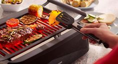 Philips Avance Indoor Grill Infared Smoke Less Barbecue NEW Barbecue Grill, Diy Grill, Barbacoa, Best Electric Grill, Indoor Electric Grill, Electric Grills, Indoor Grill, Indoor Outdoor, Outdoor Living