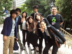 Brilliant @oxfamjapan volunteers getting ready for our #landgrabs stunt in Tokyo. Press arriving too! #whatwillittake