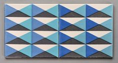 Geometric Carter tiles, 1960's | Flickr - Photo Sharing!