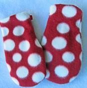 FREE Mittens Sizes 0-14 years pdf sewing pattern - via @Craftsy