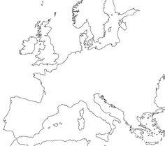 blank map of europe | Blank Europe Map