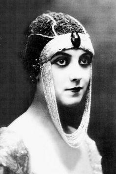 Theda Bara, silent film actress