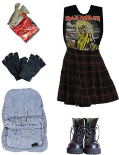 """""""Heavy school"""" by psycogirl ❤ liked on Polyvore"""