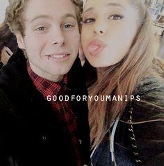 Luke Hemmings and Ariana Grande manip || requested