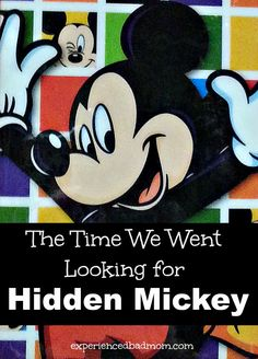 """""""Go look for hidden Mickeys,"""" my husband said with a wave of his hand. But that's NOT what my kids found on the wallpaper in our room at Disney's Animal Kingdom Lodge! You've got to see it to believe it!"""