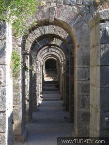 The ancient city of Bergama - Pergamon-Turkey