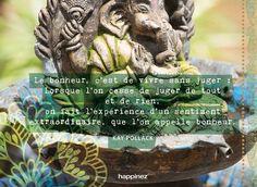 * Garden Sculpture, Words, Outdoor Decor, Home Decor, Bonheur, Quotes, Decoration Home, Room Decor, Home Interior Design